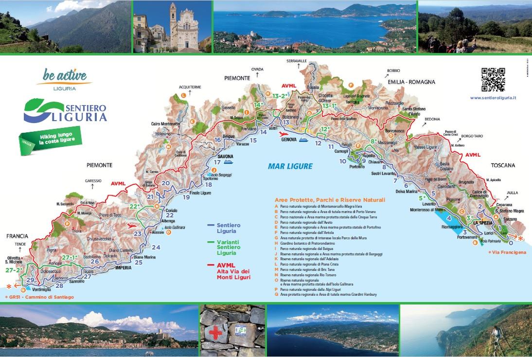 Cartina Turistica Liguria.Sentiero Liguria Cartina Aggiornata Comune Di Garlenda